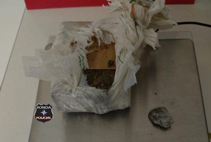 Homem é preso por perturbação e suspeita de tráfico de drogas
