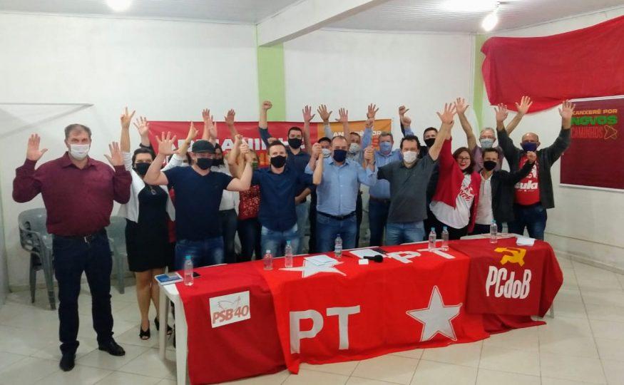 Está definido: PT vai de chapa pura na majoritária com Adrianinho e Tiecher para as eleições em Xanxerê