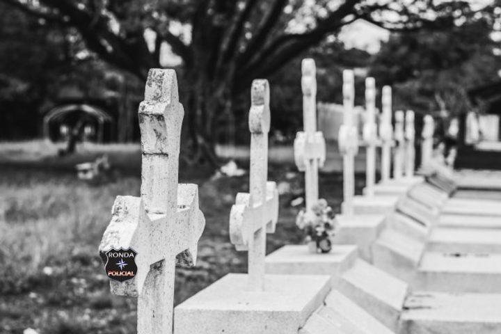 Polícia Civil investiga caso de sepulturas violadas em cemitério
