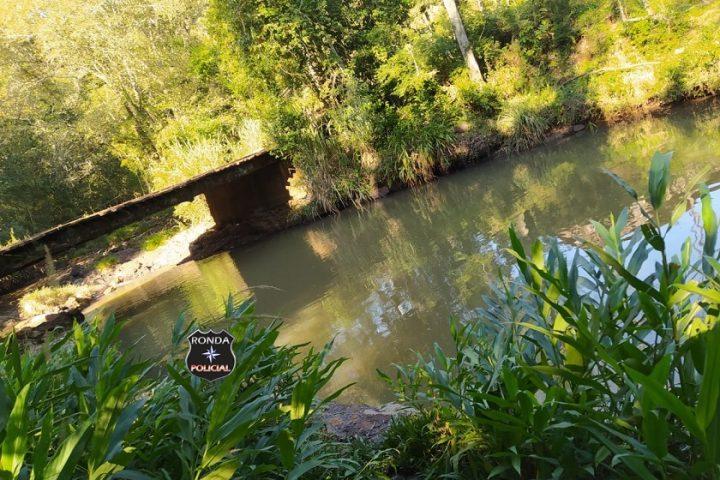Homem morre afogado em rio no Oeste