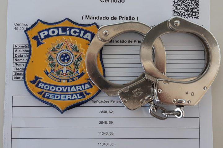 Traficante gaúcho é preso no Oeste pela PRF