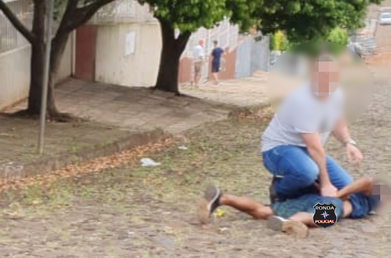 Policial Civil à paisana detém jovem em flagrante ao praticar roubo a mulher em Xanxerê