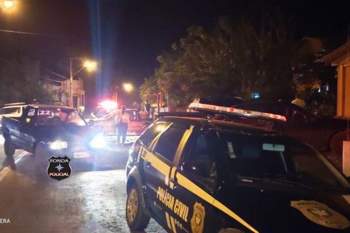 Polícia Civil e Polícia Militar realizam operação para dispersar aglomeração no Oeste