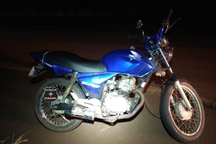PMRv recupera motocicleta furtada