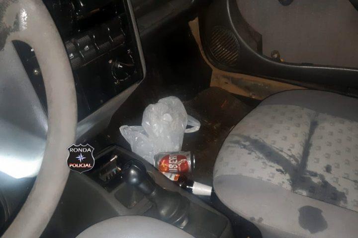 PRF prende motorista embriagado após fugir de fiscalização na BR-282
