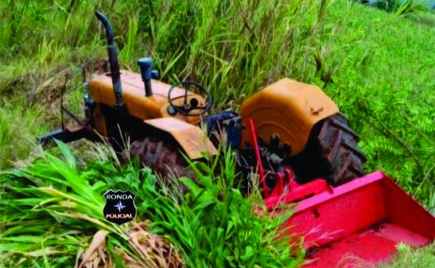 Idoso morre em acidente com trator em comunidade rural