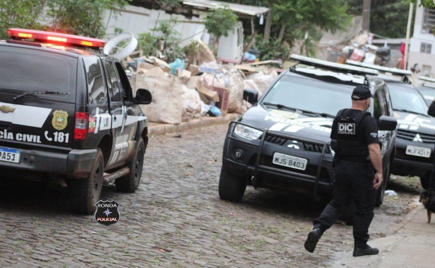 DIC prende em Xanxerê autor de homicídio registrado no litoral do Estado