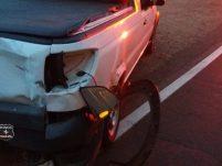 Acidente em rodovia deixa motociclista gravemente ferido