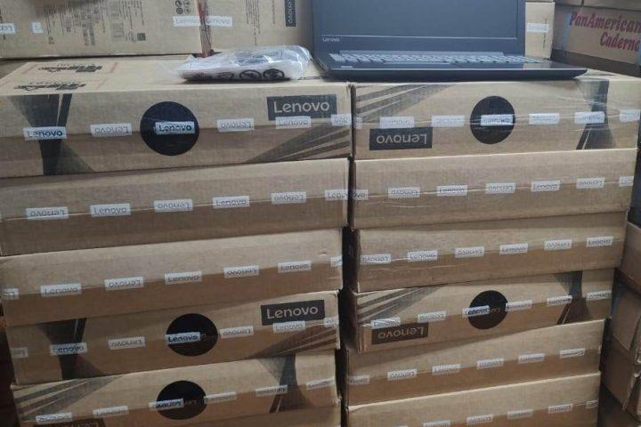 Secretaria de Educação de Xanxerê adquire 61 notebooks para escolas da rede municipal