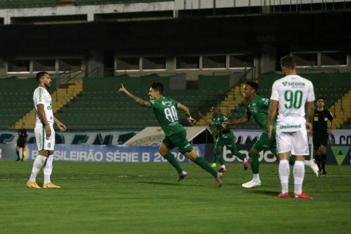 Bugre vence a líder Chapecoense e entra na briga pelo G-4 da Série B