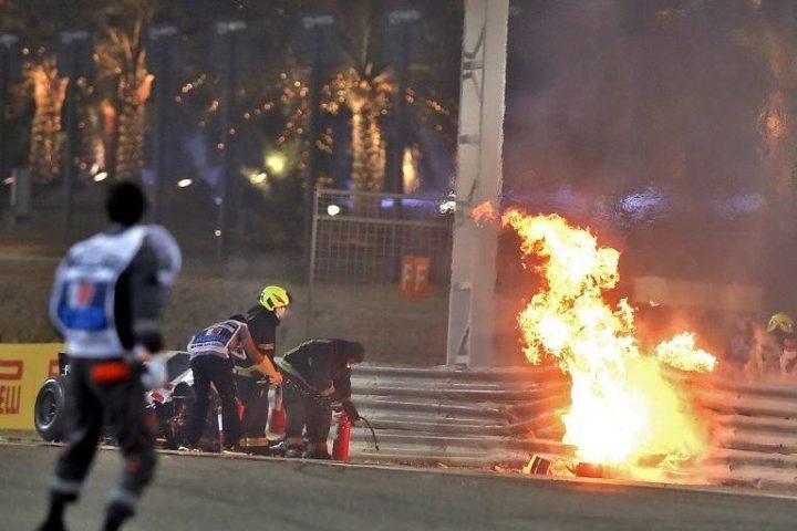 Francês Romain Grosjean sobrevive a acidente horripilante na Fórmula 1