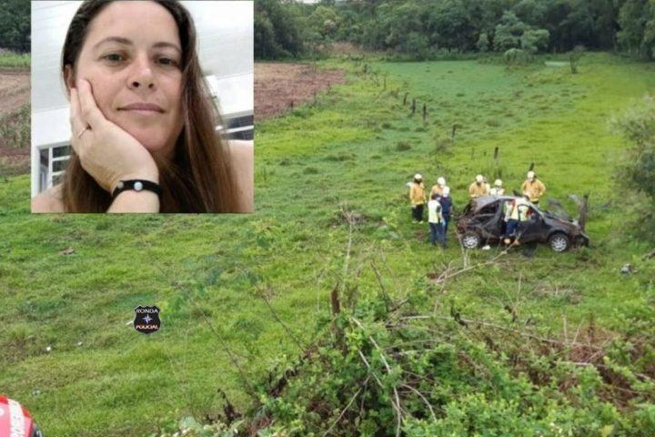 Identificada mulher que morreu em grave acidente na SC-283