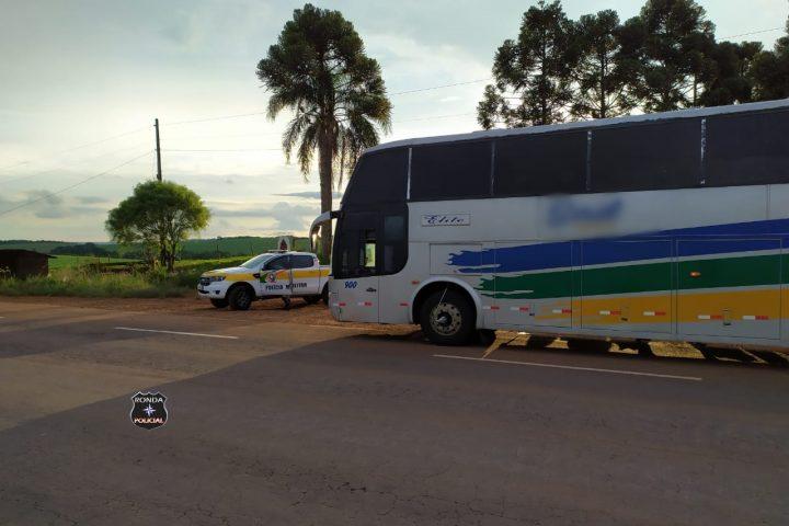Mercadorias contrabandeadas são apreendidas pela Policia Militar Rodoviária