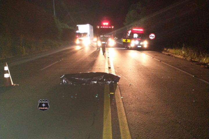 Homem morre atropelado por motoboy no Oeste
