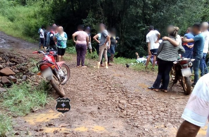 Localizado corpo de indígena arrastado pela força da água de córrego na regional de Xanxerê