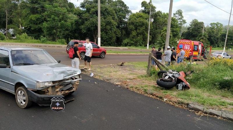 Motociclista morre em grave acidente na manhã deste sábado