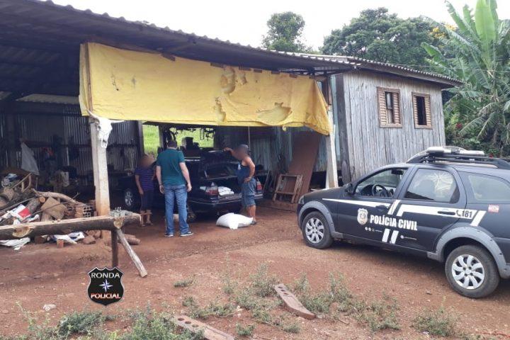 Idoso é preso em flagrante durante cumprimento de mandado que apreendeu armas e munições em propriedade rural