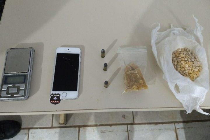 Adolescente é preso em flagrante por tráfico de drogas no Oeste