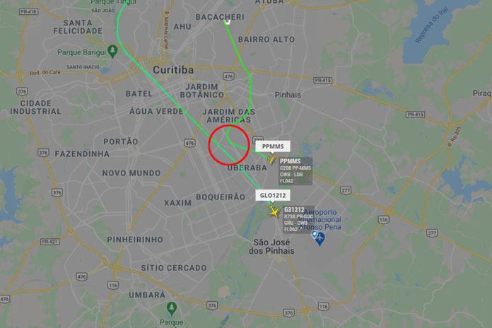 Avião com vacinas da CoronaVac entra em rota de colisão com outra aeronave