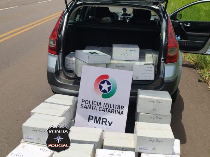 PMRv apreende mercadoria contrabandeada avaliada em R$ 24 mil