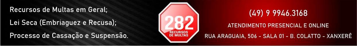 282 Recursos de Multa – Topo 128406