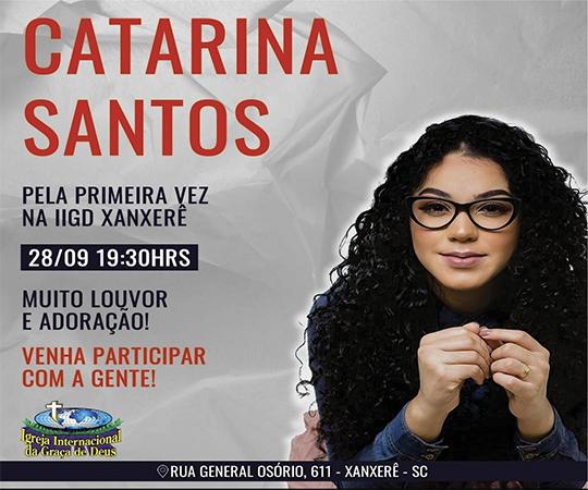 Catarina Santos em Xanxerê 146301